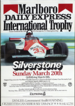 "SILVERSTONE  FORMULA 2 1983 March 20 Poster 28 x 19"" ( 700 x 409mm)"